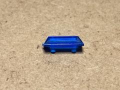 Emergency lightbar blue 12x5x3mm
