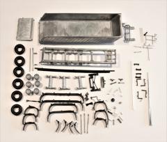 3 axles Meiller kipper kit