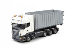 T.B. Scania R-Serie Topline motorwagen Haakarm afzetcontainer