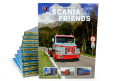 Book Scania Friends Edition 1 - ( English version )