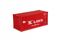 T.B. 20ft container K-line