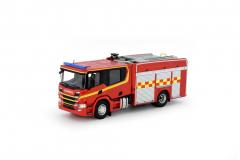 Scania Crew Cab fire truck