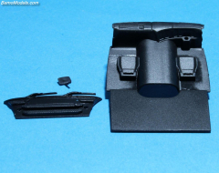 Scania P bottomplate, wiper etc. (RHD)