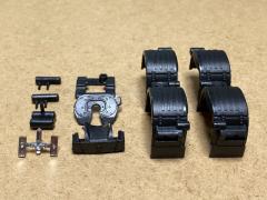 Scania S/R N.G. mudguard set 6x2/6x4 etc..