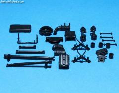 DAF Euro 6 rigid 4x2/6x2 chassis parts