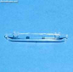 DAF 2800 zonneklep rond transparant