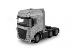 DAF XF SSC Euro 6 twinsteer 6x2 tractor kit