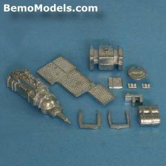 DAF 95 XF twinsteer parts engine, tank etc.
