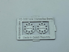Wheel ring / cover Mercedes Benz (Tekno old rim)