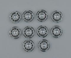 Supersingle front rim chrome (10pcs)