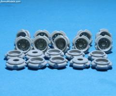 Rear rim set universal (10pcs)