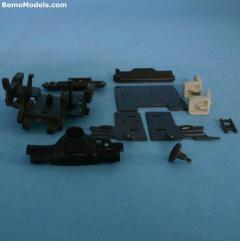 DAF XF 105 bottomplate, dashboard, chairs etc.