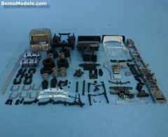 Sca R5 Laag Bakw chassis 6x2 (2 lampen in zonnek)