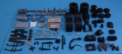 Scania R6 Streamline 6x2 chassis kit