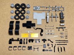 Volvo FH4 6x2 twinsteer chassis kit