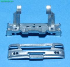 DAF CF Euro 5 frontplate + bumper