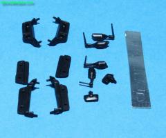 Mirror / antenna set MB Actros MP04