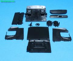 MB Actros MP04 interior, steering wheel etc