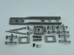 Trailer 2/3 axle leaf suspension 7,2m kit