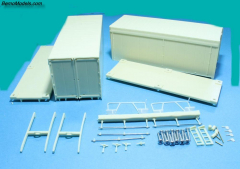 Container set haakarm/NCH systeem kit