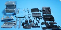 M.B. Actros Big space cabine kit