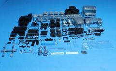 Scania Vabis L76 BeGe sleepcabin 6x2 kit