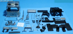 Mack F700 high roof cabin kit