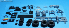 Mack F700 chassis 4x2 kit
