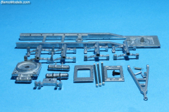 Trailer 2/3 axle leaf suspension 8m kit