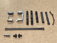 Multi chassis extra axle set