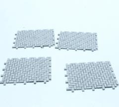 Klinkermatje 4x160 stuks 1:50
