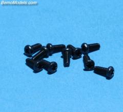 Schroefjes tekno 2,6 x 6mm set 10