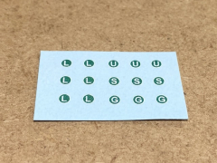 L, U, G and S sign decal