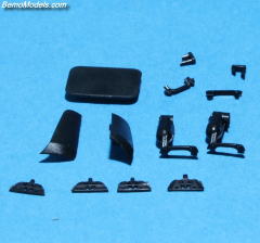 MB Actros MP04 cabin parts