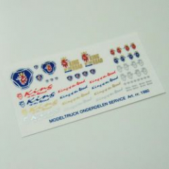 Sticker set Scania King of the Road