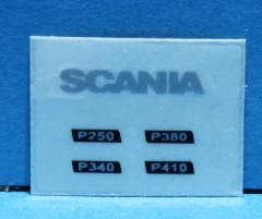 Scania P type sticker