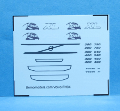 Decal Volvo FH04 (watertransfer)