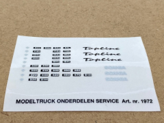 Scania 4 serie sticker set