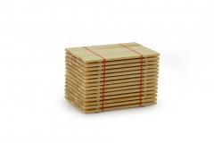 Stapel planken 42 x 66 x 43,5 mm
