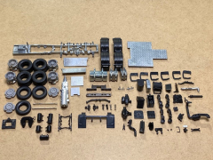 Volvo FH03/04 chassis 6x4 kit