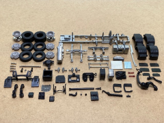 Volvo FH04 6x2 twinsteer chassis kit