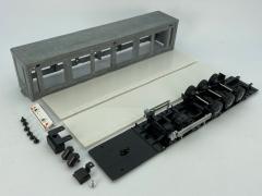 Curtainside 3 axle trailer kit (Lion toys)