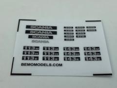 Sticker set Scania 3 serie