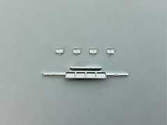Light rack chrome below bumper