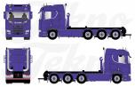 T.B.P. Scania CR20N 8x4 haakarm