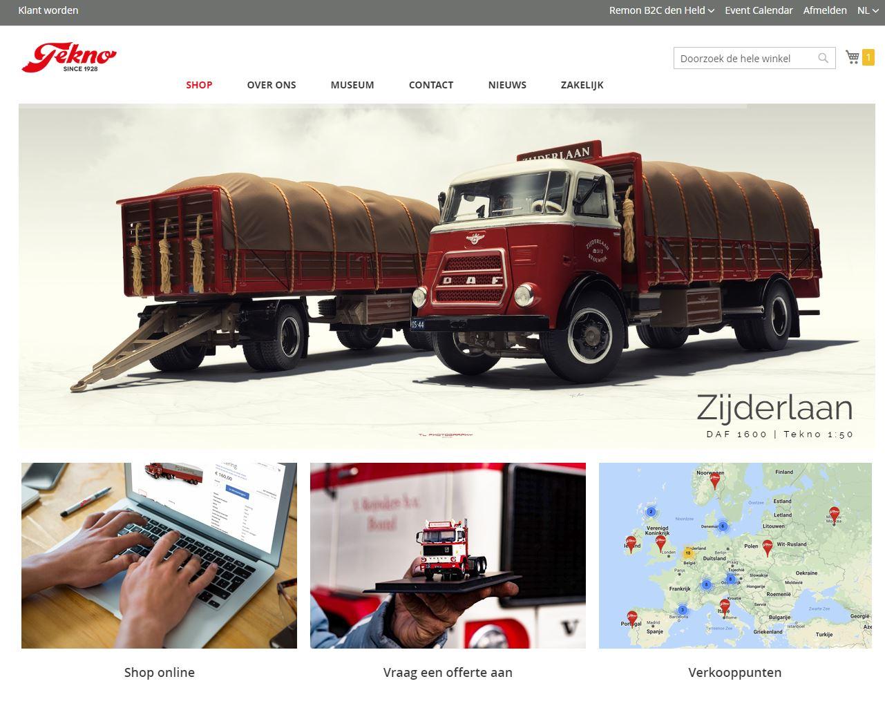 Nieuwe website!