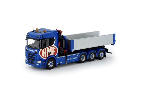 Nieuwe 28 ton meter kraan voor HMF