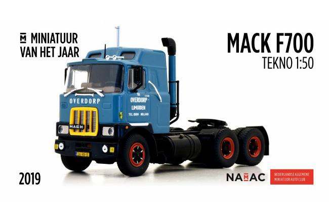 Mack F700 Miniatuurauto van het Jaar!