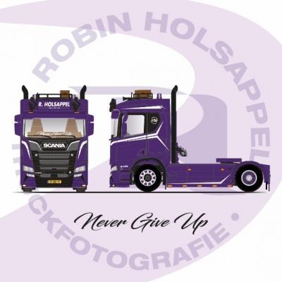 Robin Holsappel en Tekno ontwerpen miniatuur truck.