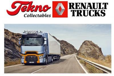 Tekno presenteert de Renault Trucks T High nu ook als schaalmodel 1/50!